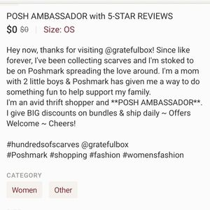 Other - Posh Ambassador with 5⭐ Reviews